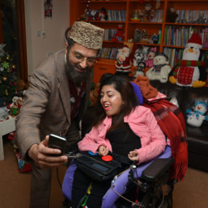 Citizen Khan visits families at Acorns Childrens Hospice