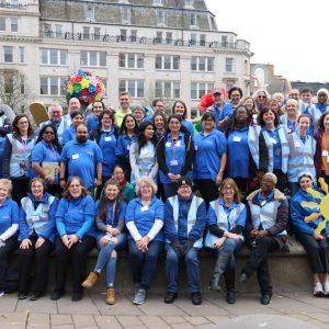 Birmingham Arts Volunteers at Commonwealth Games 2022 Handover
