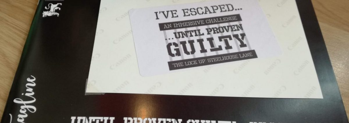 We escaped …Until Proven Guilty photo by Dave Massey
