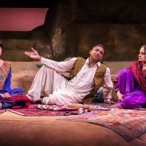 Sujaya Dasgupta (Laila) Pal Aron (Rasheed) Amina Zia (Mariam) Photos by Pamela Raith Photography