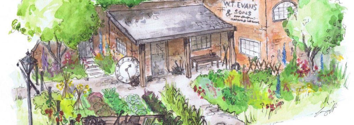 The Watchmaker's Garden - Alexandra Froggatt - BBC Gardeners' World Live 2019