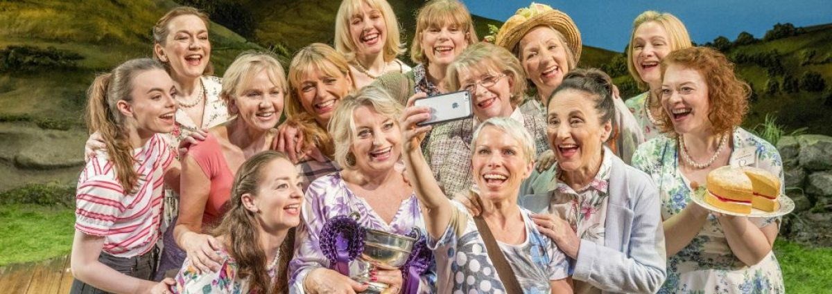 The cast of Calendar Girls the Musical UK Tour