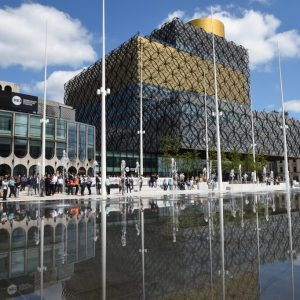 Walk Centenary Square with Positively Birmingham
