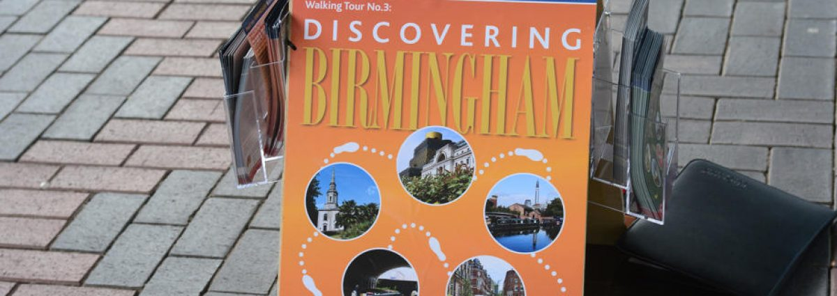 Positively Birmingham Walking Tour photos via positivelybirmingham.co.uk