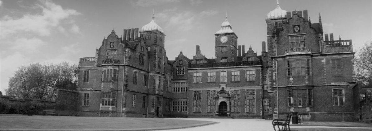 Aston Hall Front - Halloween
