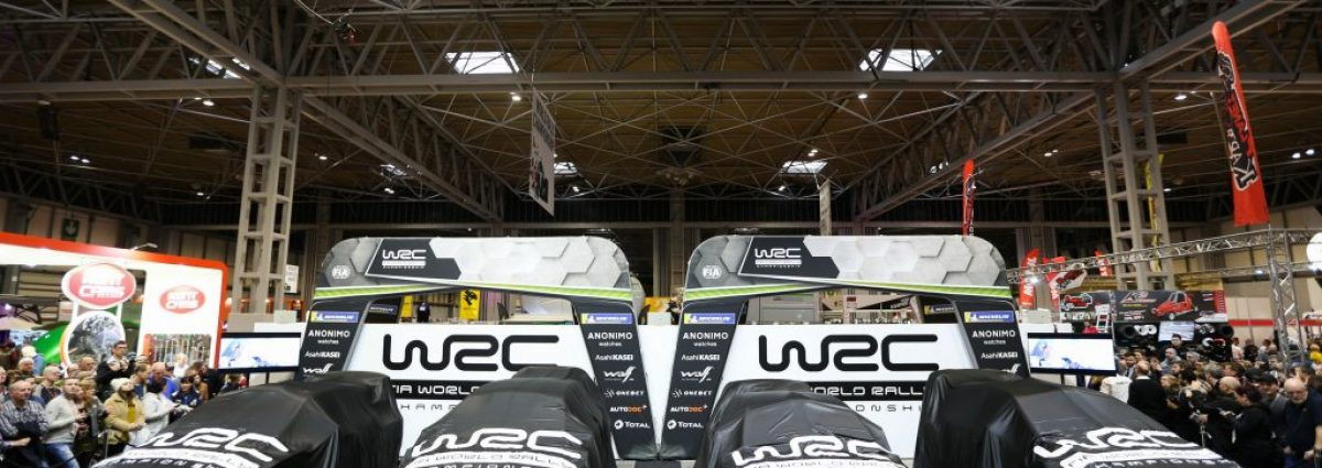 WRC Autosport International 2019 Launch