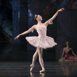 Miki Mizutani as the Sugar Plum Fairy photo by Bill Cooper