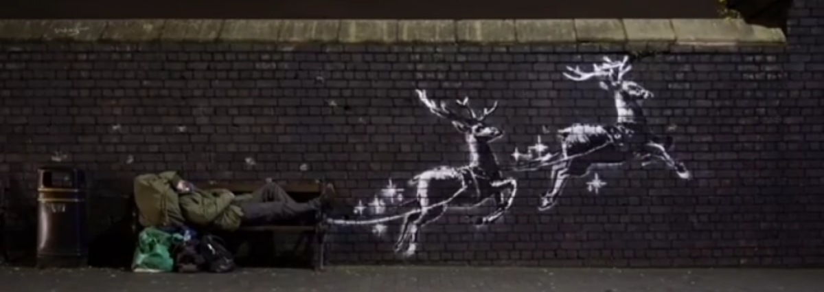 Banksy - image via Instagram.com/Banksy