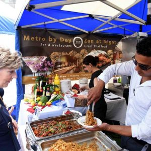 Zen Metro at Colmore Food Festival