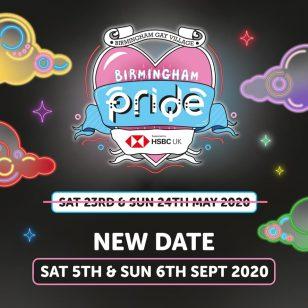 Birmingham Pride September 2020