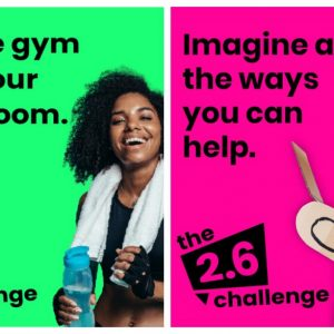 Birmingham St Mary's is urging people to get involved with the 2.6 Challenge
