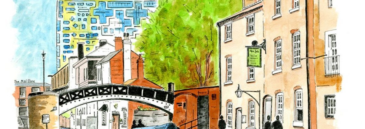 Gas Street Basin by Stacy Barnfield