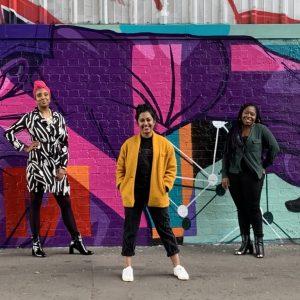 Regional producers: Paige Jackson, Aksana Khan, and Diandra McCalla.