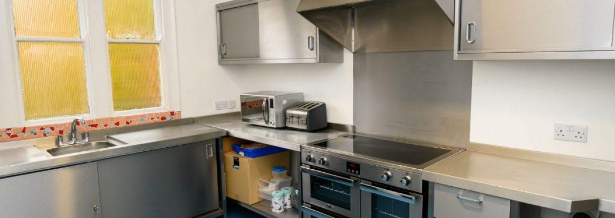 Bournville Hub's new community kitchen