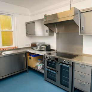 Bournville Hub's new community kitchen