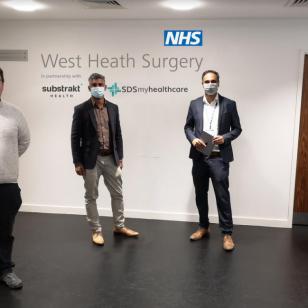 West Heath Surgery with Gary Sambrook MP