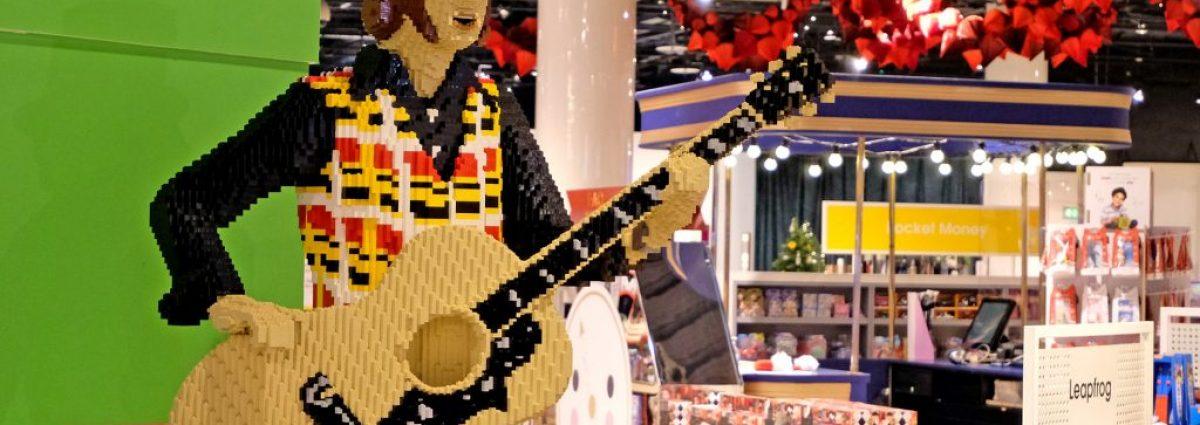 LEGO Noddy Holder at Selfridges Birmingham