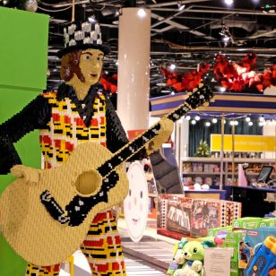 LEGO Noddy Holder at Selfridges Birmingham