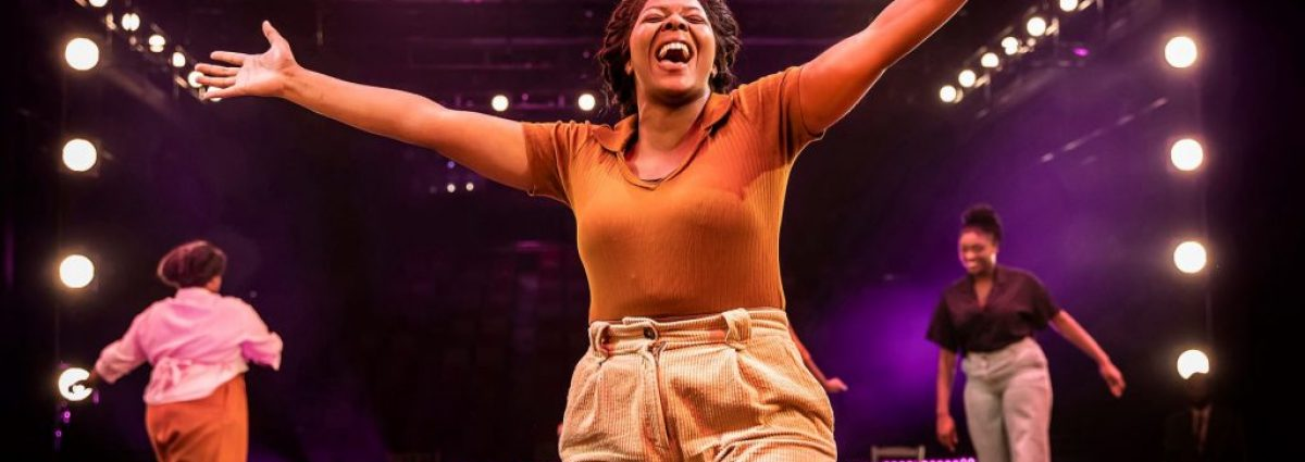 T'Shan Williams as Celie - photo by Pamela Raith