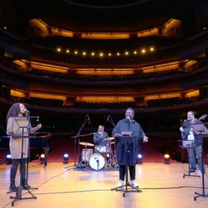 Gospel Ensemble filming at Symphony Hall March 2021