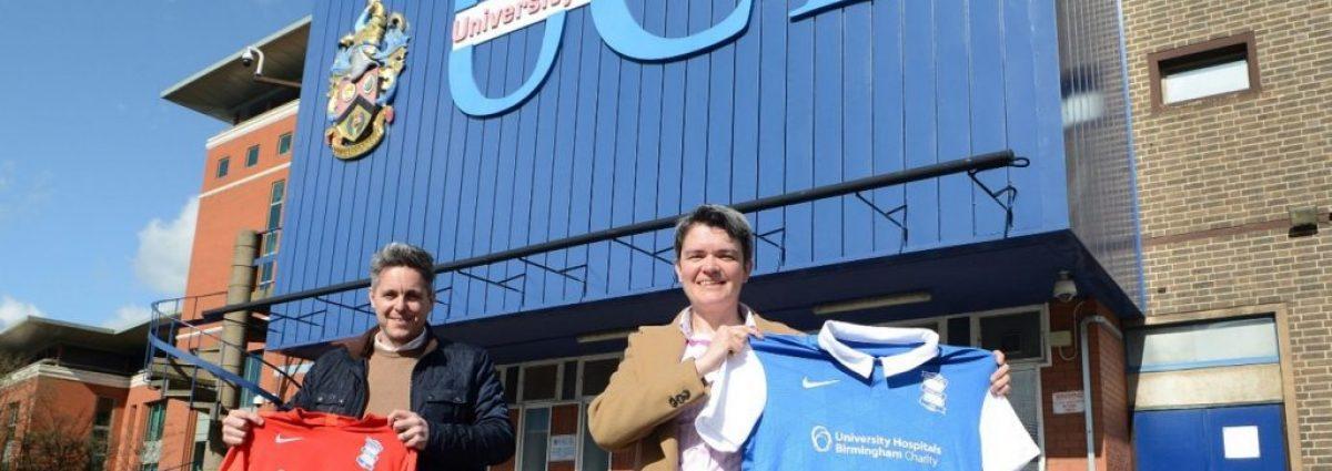Matt Dorgan (BCFC) and Elaine Limond (UCB) unveil new sport qualification at University College