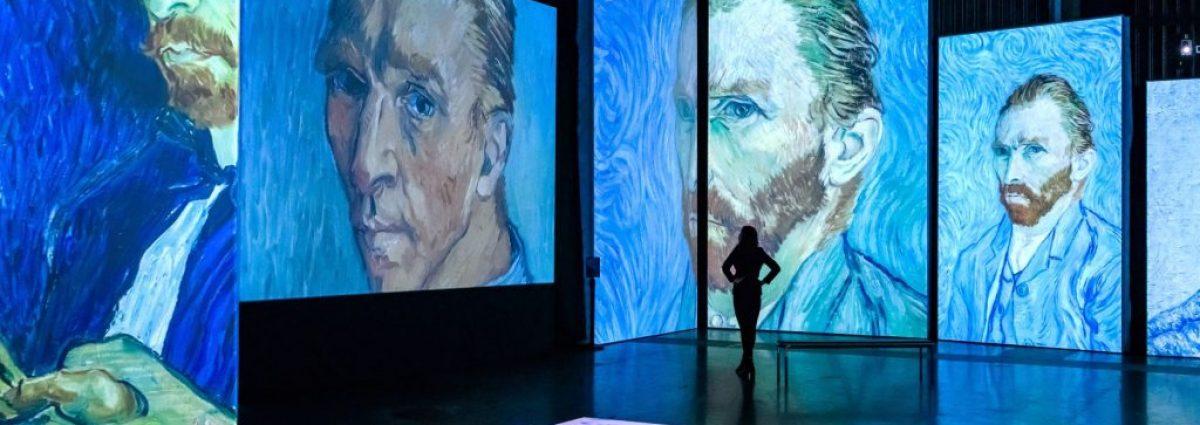 Van Gogh Alive experience at Birmingham Hippodrome, Photo by Simon Hadley