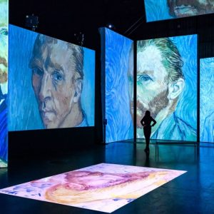 Van Gogh Alive experience at Birmingham Hippodrome, Photo by Simon Hadley