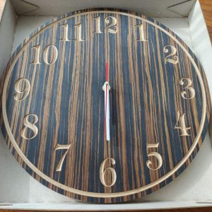 """15"""" Analogue Wall Clock from Clock Design Co"""