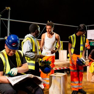 Constructed cast. Photo by Hannah Kelly