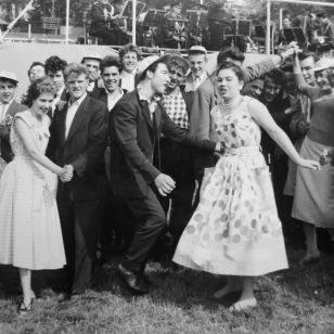 Amblecote fete 1957