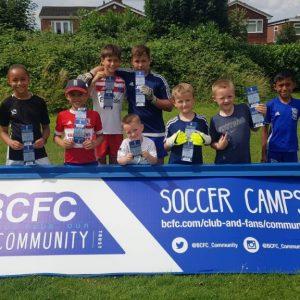 Free summer soccer schools courtesy of Birmingham City FC