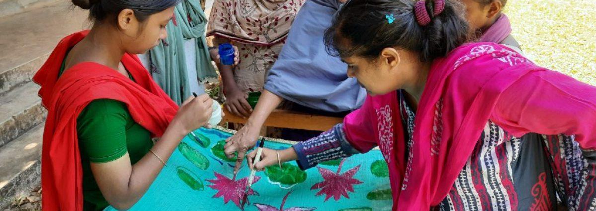 Shakti - Banner making