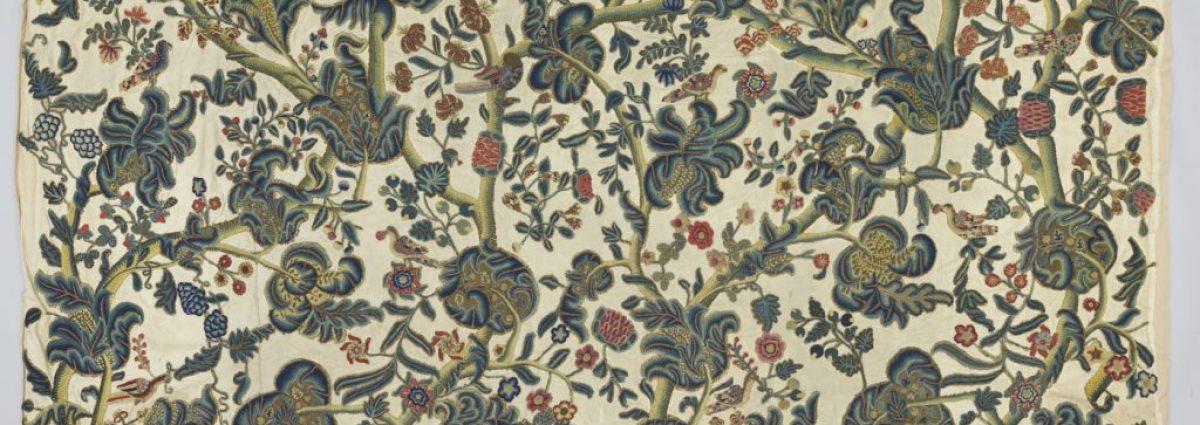 17th century Embroidery Aston Hall photo via Birmingham Museums