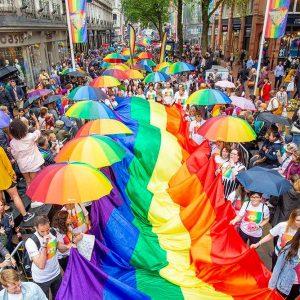 Birmingham Pride march