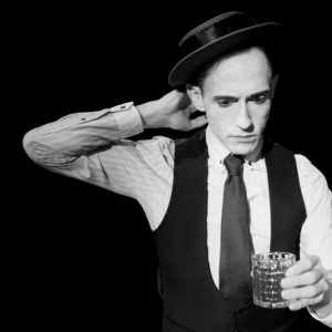 When You Fall Down with James Dangerfield as Buster Keaton at The Old Joint Stock