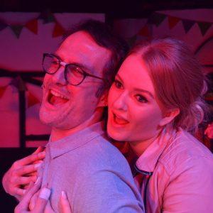 Alex Wadham and Bella Bowen