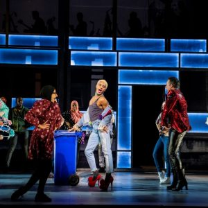 The company of the Everybody's Talking About Jamie Tour. Photo by Matt Crockett